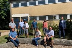 Besichtigung Schulgelände IGS Morbach 6. August 2020