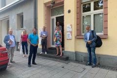 Besuch der Fachberatung für Menschen ohne Wohnung des Caritasverband Koblenz e.V. 4. August 2020