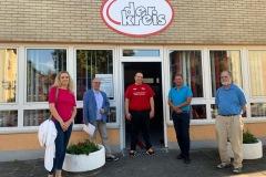 Besuch beim  Verein Der Kreis cbf Club Behinderter und ihrer Freunde e.V. 4. August 2020