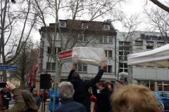 Einweihung des Maria-Einsmann-Platzes 6. März 2020