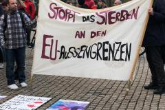 Griechenland-Kundgebung: Grenzen auf!  4. März 2020
