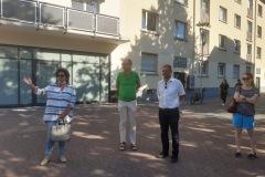 GRÜNE Stadtratsfraktion vor Ort: Rundgang zur Quartiersentwicklung 5. August 2020