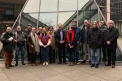 Landtagsbesuch der Mitglieder des neu gegründeten Ortsverbandes Mainz-Oberstadt von BÜNDNIS 90/DIE GRÜNEN und des Kreisverbandes der Mainzer GRÜNEN